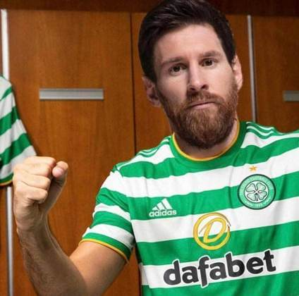 Lionel Messi no Celtic