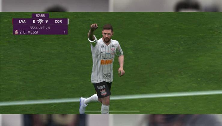 Lionel Messi no Corinthians
