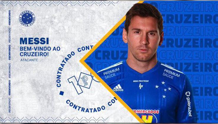 Lionel Messi no Cruzeiro