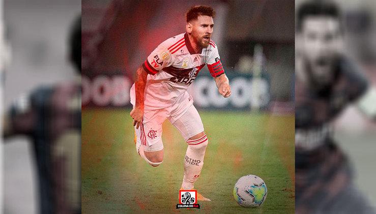Lionel Messi no Flamengo