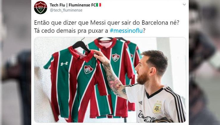Lionel Messi no Fluminense