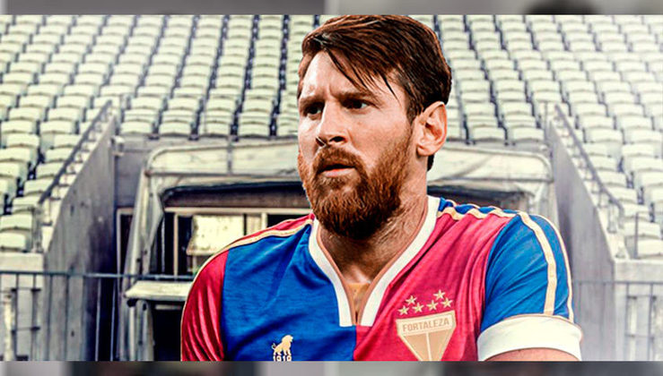 Lionel Messi no Fortaleza