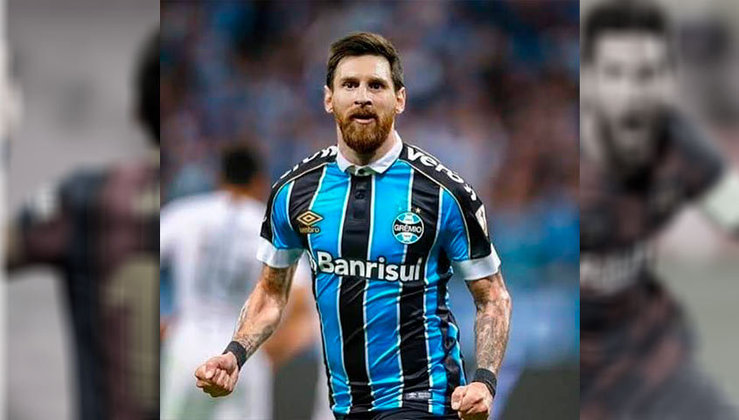 Lionel Messi no Grêmio