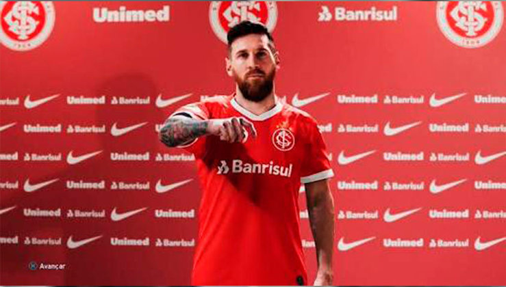 Lionel Messi no Internacional
