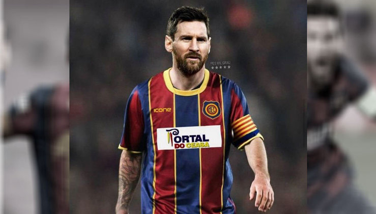 Lionel Messi no Madureira