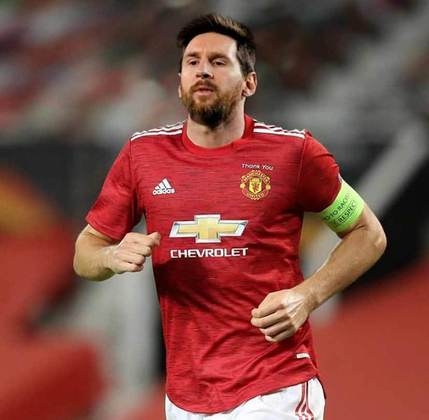 Lionel Messi no Manchester United