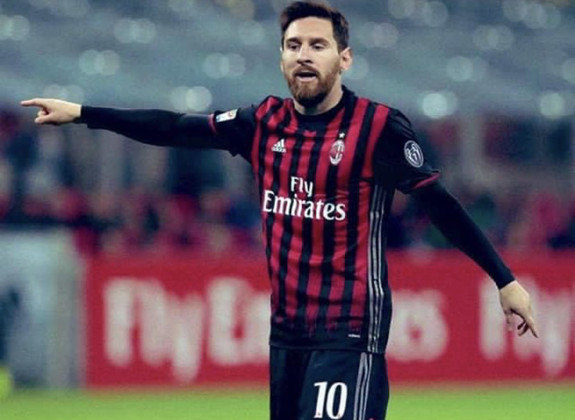 Lionel Messi no Milan também seria uma alternativa