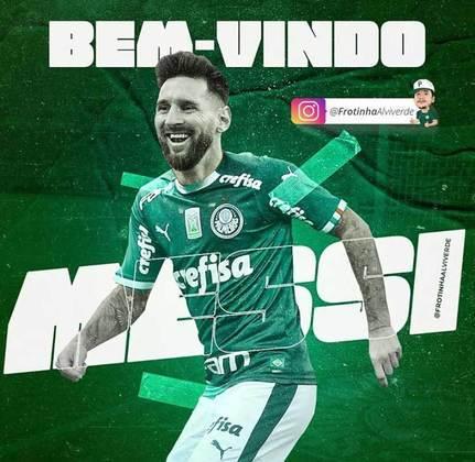 Lionel Messi no Palmeiras