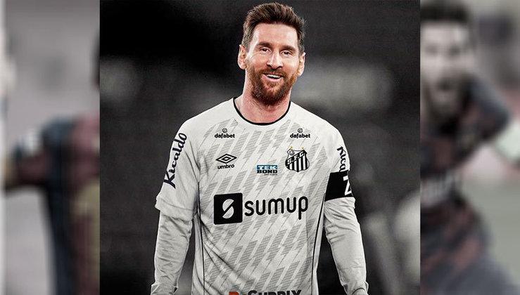 Lionel Messi no Santos
