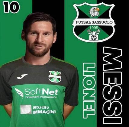 Lionel Messi no Sassuolo?