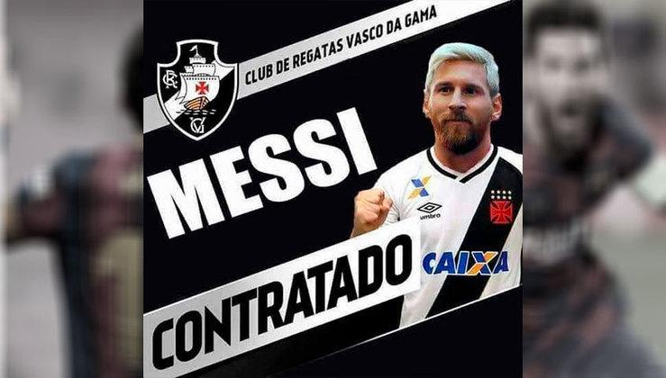 Lionel Messi no Vasco da Gama