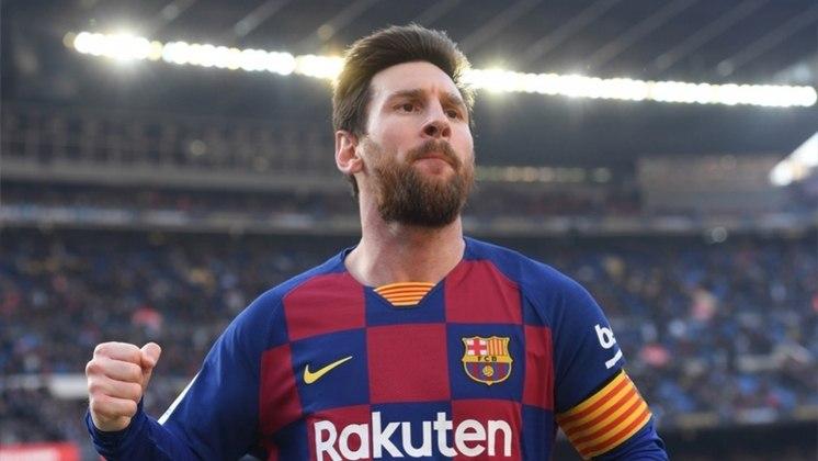 Lionel Messi - o argentino segue forte no Barcelona com 19 gols e 38 pontos.