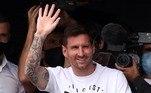 Aos 34 anos, o craque argentino chega com um contrato de dois anos, válido até 2023, e com rendimentos na casa dos35 milhões de euros (R$ 214 milhões na cotação atual)