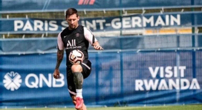 Lionel Messi - PSG - Treino
