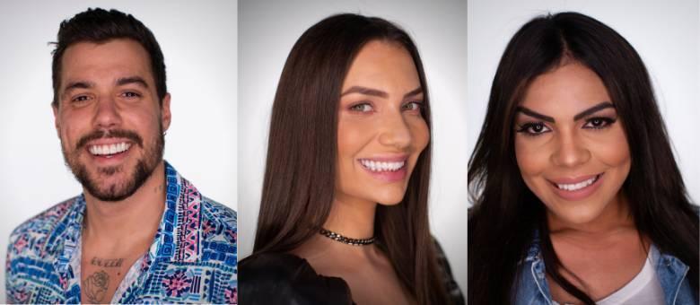 Lipe, Stéfani e Tays formam o trio da Roça do último domingo (13)