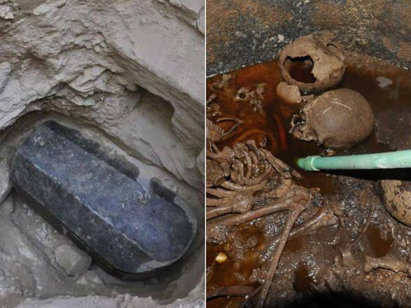 Resultado de imagem para 21 mil pessoas querem beber água encontrada em sarcófago egípcio