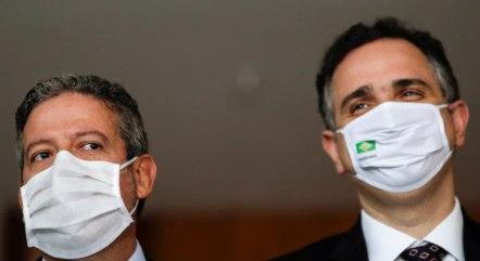 Lira e Pacheco retornam amanhã à Brasília após viagem à Roma