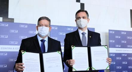 Lira e Pacheco assinam protocolo de intenções