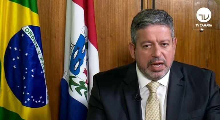 O presidente da Câmara dos Deputados, Arthur Lira