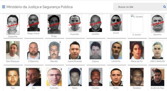 Davi Marques ainda consta como procurado, mas MJSP diz que prisão foi noticiada
