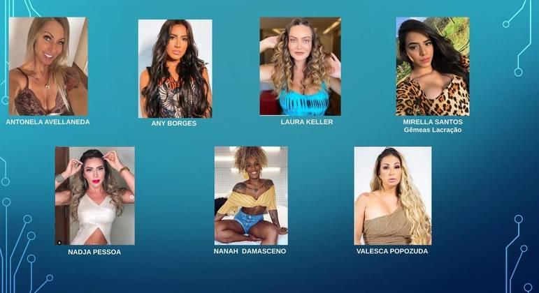 O time feminino de 'Ilha Record'