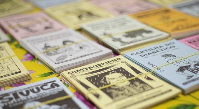 Literatura de cordel tem espaço especial na Feira do Livro Crédito: Pedro Heinrich / Divulgação / CP