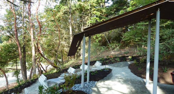 O Little Spirits Garden foi inaugurado em 2012 em British Columbia