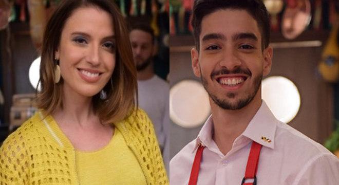 Isadora Cecatto e Matheus Costa participam da live no perfil oficial de Amor Sem Igual