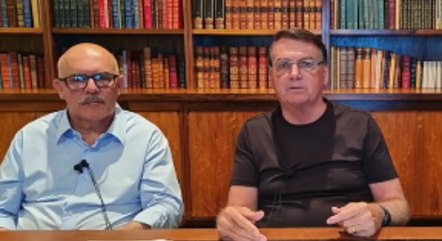 O ministro Milton Ribeiro e o presidente Jair Bolsonaro