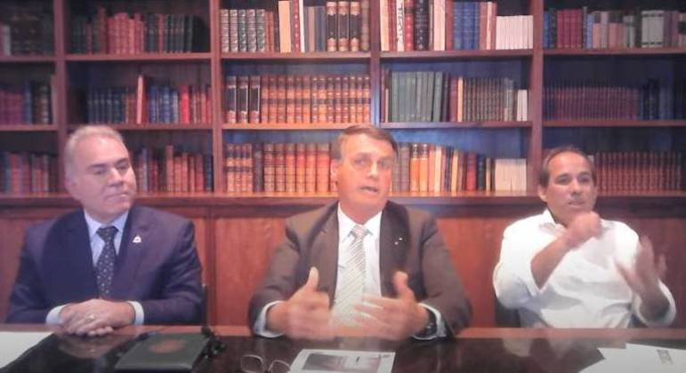 Bolsonaro disse ainda que não errou nas ações de combate à pandemia