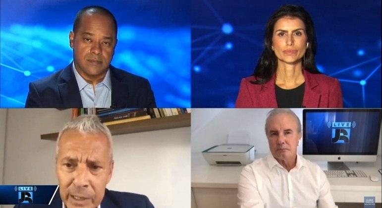 João Gabbardo participou da #Live JR com Luiz Fara Monteiro, Cleisla Garcia e Celso Freitas