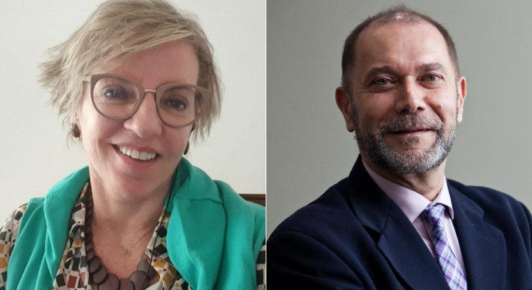A infectologista Raquel Stucchi e o pediatra pediatria Juarez Cunha estarão na 'Live JR'