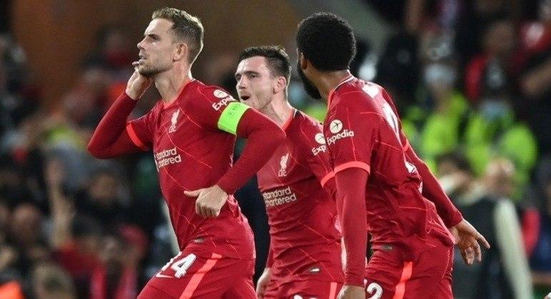 Henderson, a vibração pelos 3 X 2 do Liverpool