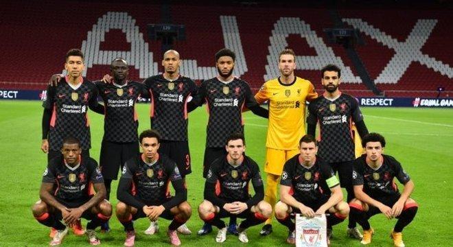 O Liverpool que começou a peleja em Amsterdam