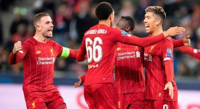 O Liverpool de 2019/2020, com o título essencialmente assegurado