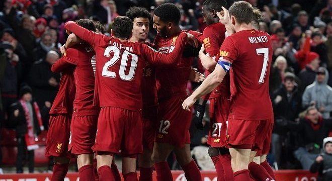 Liverpool, praticamente o campeão da Inglaterra