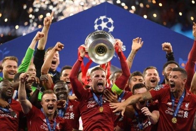 Liverpool - 6 títulos (1976–77, 1977–78, 1980–81, 1983–84, 2004–05 e 2018–19).