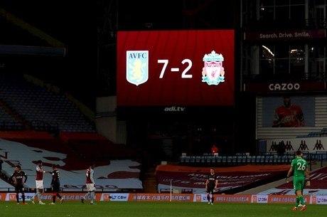 Liverpool foi goleado pelo renovado Aston Villa