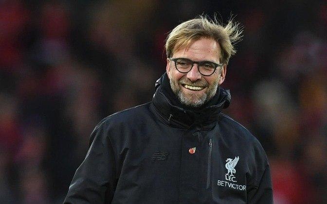 LIVERPOOL do técnico Jurgen Klopp fecha as vagas para a fase de grupo, ou quase todas elas. O título da Premier League garantiu o time do técnico alemão na Champions.