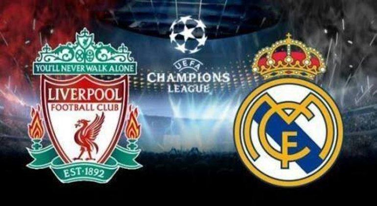 Liverpool X Real Madrid, na ida 1 X 3