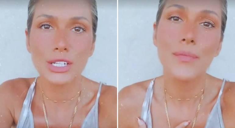 Lívia Andrade expõe mensagens de ódio na internet