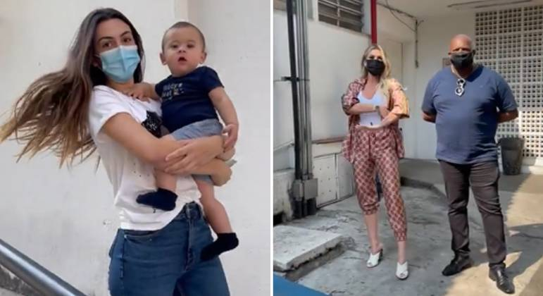 Lívia Andrade vai com namorado em teste de DNA do filho de Pétala Barreiros