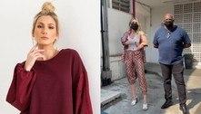 Lívia Andrade é criticada por ir com namorado a exame: 'Fiscal de DNA'