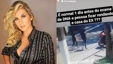 Lívia Andrade diz que Pétala ficou 'rondando' casa de ex: 'É normal?'