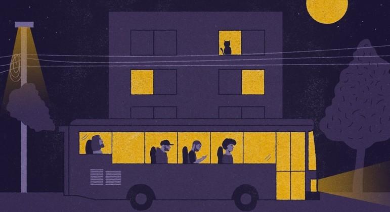 Livro digital no Instagram retrata histórias reais de passageiros dos ônibus de SP