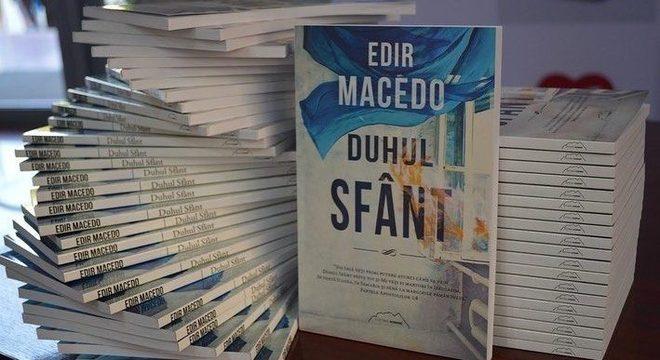 Com o título Duhul Sfânt, livro do Bispo Edir Macedo, é lançado na Romênia