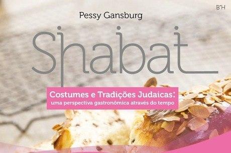 Capa do novo livro escrito por Pessy Gansburg