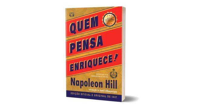 Livro Quem Pensa Enriquece é relançado pela Editora Citadel