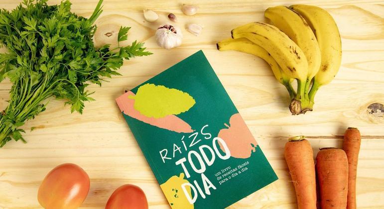 Livro oferece 31 receitas com produtos orgânicos e venda será revertida para ajudar pequenos produtores