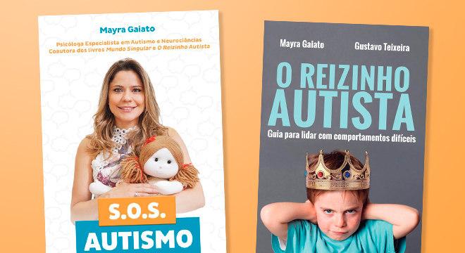 """Os livros """"S.O.S Autismo"""" e """"O Reizinho Autista"""" ajudam a compreender a condição"""